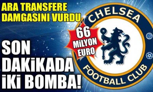 Chelsea'den flaş transfer