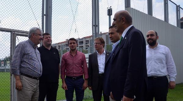Chikhura Sachkhere Yönetimi Bursaspor'u Ziyaret Etti