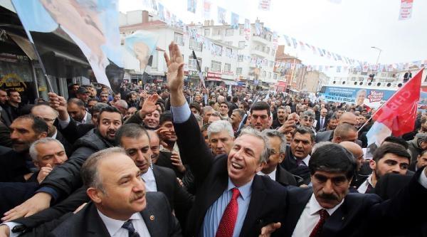 Chp Ankara Adayı Yavaş: Kendimizi Değil, Kentimizi Zengin Edeceğiz