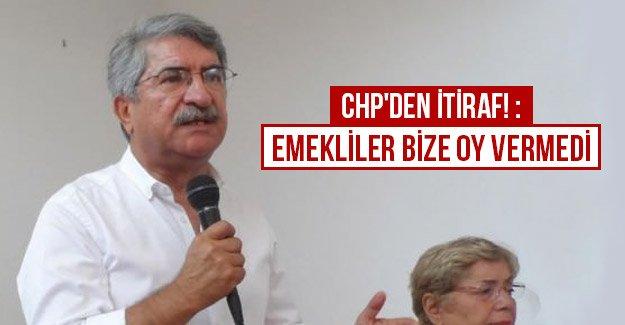 CHP'den itiraf!: Emekliler bize oy vermedi