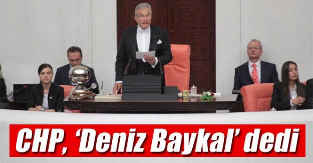 CHP Deniz Baykal'ı aday gösterdi