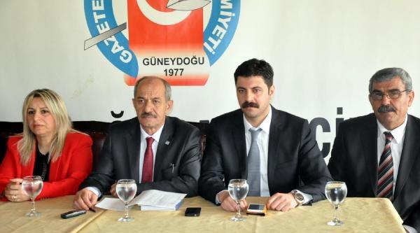 Chp Diyarbakır İl Başkanı Sayın'dan 'arınç İstifa Edebilir' İddiasi