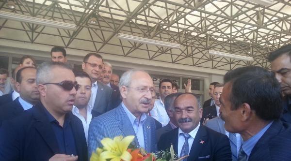 Chp Genel Başkanı Kılıçdaroğlu İzmir'de