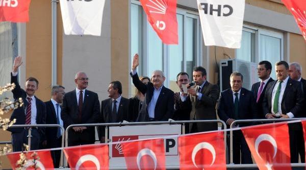 Chp Genel Başkani Kiliçdaroğlu; Mazottan Ötv Ve Kdv'yi Kaldiracağiz / Ek Fotoğraflar