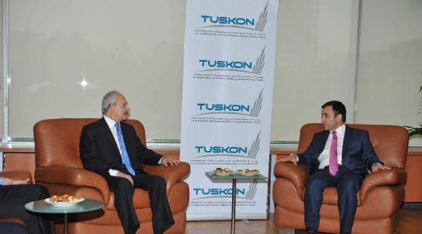 Chp Genel Başkanı Kılıçdaroğlu, Tuskon'u Ziyaret Ediyor