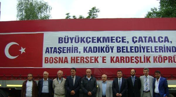Chp Heyeti Bosna'da Felaket Bölgesinde