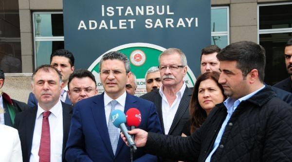 Chp İstanbul İl Başkanı Salıcı : Topbaş Sanık Kürsüsüne Dahi Çağrilmadi