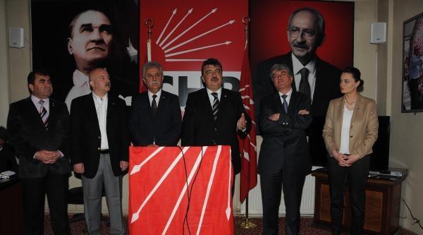 Chp Kayseri İl Başkanı: Adaylarımızın Başına Birşey Gelirse, Sorumlusu Başbakan'dır