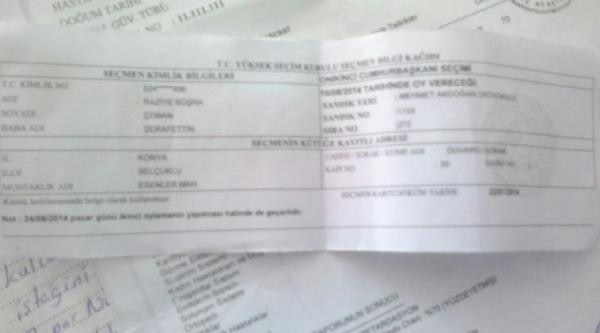 Chp Konya İl Başkanı: Zihinsel Engelli 2 Kişiye Oy Kullandırıldı