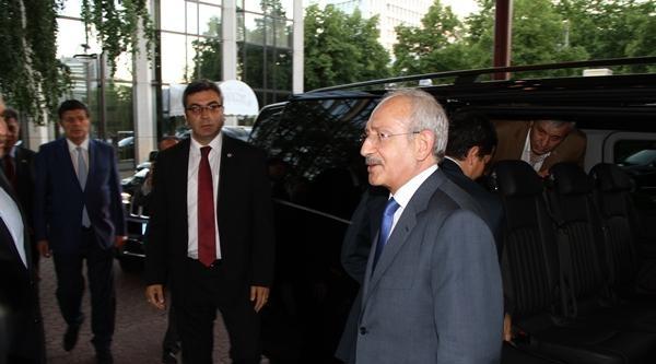 Chp Lideri Kılıçdaroğlu Almanya'da