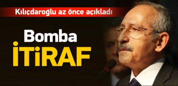CHP lideri Kılıçdaroğlu'ndan koalisyon itirafı
