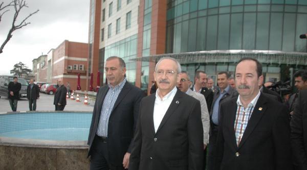 Chp Lideri Kılıçdaroğlu: Şimdi Yargıya Müdahaleleri De Ayyuka Çikti / Fotoğraflar