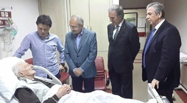 Chp Lideri Kiliçdaroğlu, Süleyman Seba'yi Hastanede Ziyaret Etti