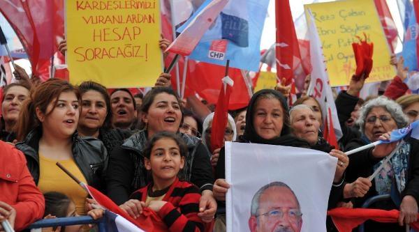 Chp Lideri Kılıçdaroğlu: Ya Vatan Evlatlarına Ya Da Bakan Evlatlarına Oy Vereceksiniz (4)