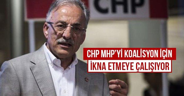 CHP MHP'yi koalisyon için ikna etmeye çalışıyor