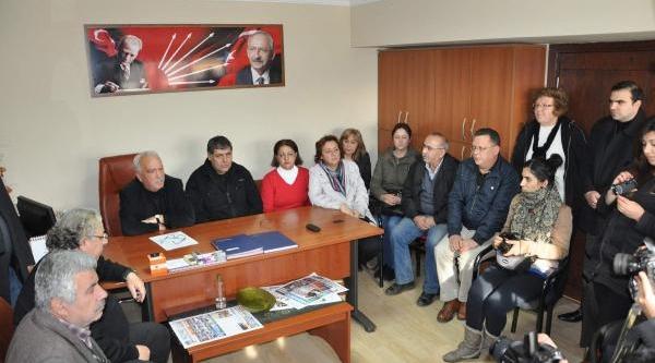 Chp Nazilli Ilçe Başkani Ve 43 Kişi Partiden Istifa Etti