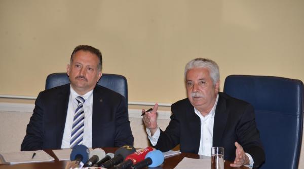 Chp Ve Ak Parti Adana Büyükşehir Belediyesi Başkan Adayları Ortak Basın Toplantısı Düzenledi