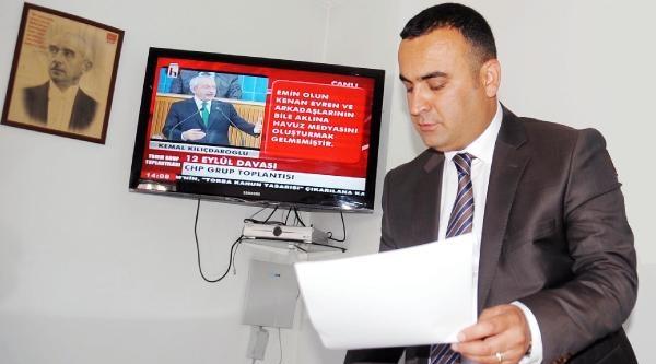 Chp Yozgat İl Başkanı'ndan Bakan Bozdağ'a 'ihsanoğlu' Tepkisi