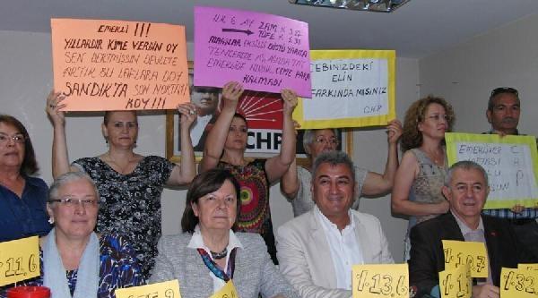 Chp'den Makarnalı, Pirinçli Emekli Protestosu