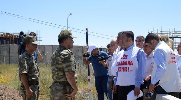 Chp'li Ağbaba Kürecik'te Konuştu: Başbakan Samimiyle Bu Kalkanı Kapatmalı