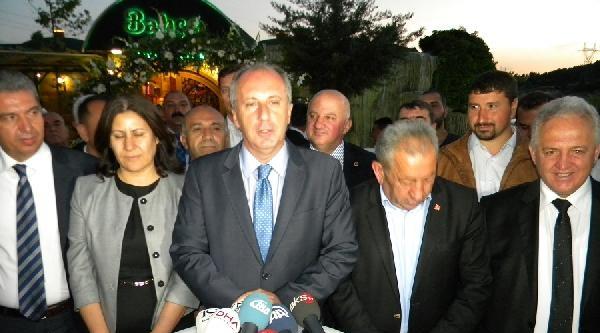 Chp'li İnce: Başbakan Maho Ağaya Benziyor