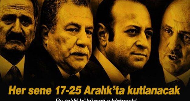 CHP'li Şeker: '17 - 25 Aralık'ı, 'Hırsızlık Haftası' ilan edeceğiz