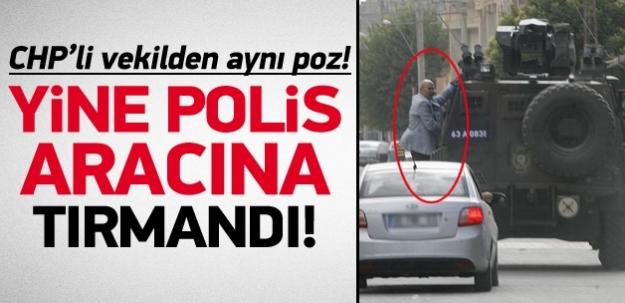 CHP'li Tanal polis aracını kovaladı
