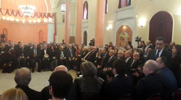 Chp'li Toprak, Ermeni Cemaatinin Noel Bayrami'ni Kutladi