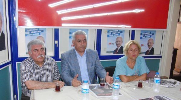 Chp'li Vekilleri Kilis'te, İhsanoğlu'na Destek İstedi