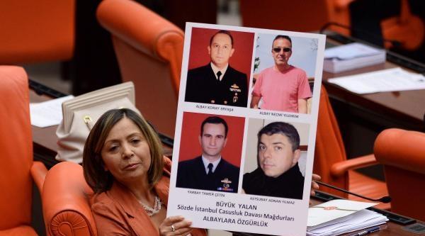 Chp'li Yılmaz'dan, Tutuklu Albaylara Özgürlük İstemi