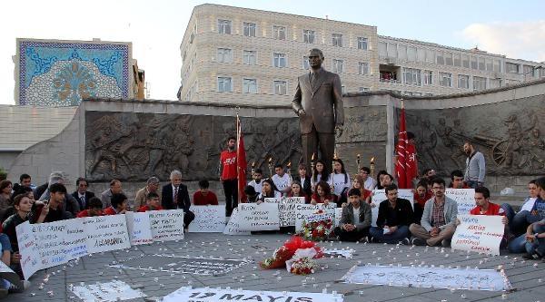 Chp'lilerden 19 Mayıs'ta Soma İçin Oturma Eylemi