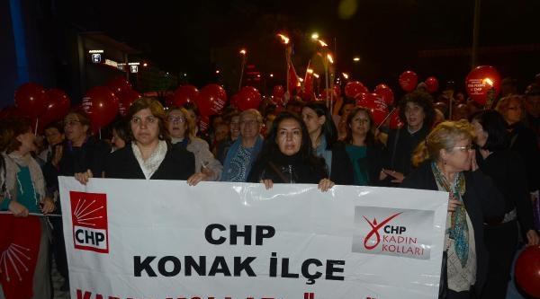 Chp'lilerden Meşaleli 'iktidar Yürüyüşü'