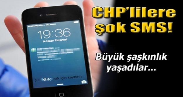 CHP'lilere şok mesaj!