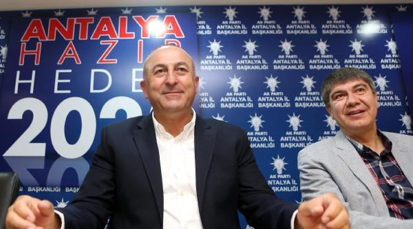 Chp'yi Suçlayan Çavuşoğlu: İllegal Grupları Destekleyen Partiler Var