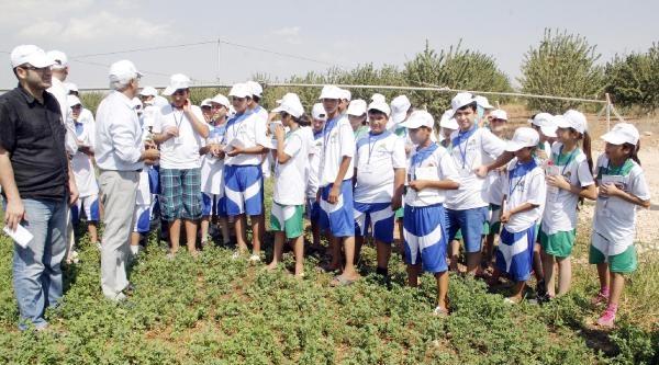 Çiftçi Çocuklara Tarım Eğitimi