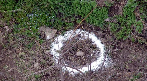 Çiftçinin Bahçesinde Patlamamış El Bombası Bulundu
