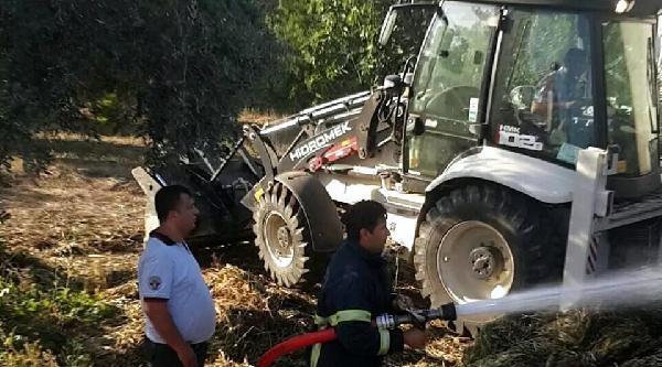 Çiftlikteki Yangında 4 Kişi Dumandan Etkilendi