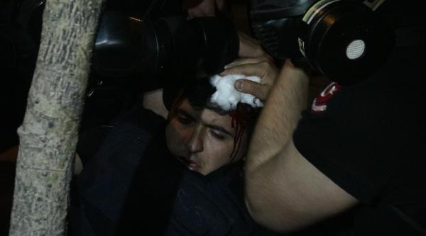 Cihangir'de Eylem Yapan Gruba Polis Müdahale Etti