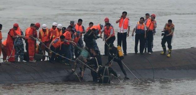 Çin'de gemi kazasında ölü sayısı 65'e çıktı