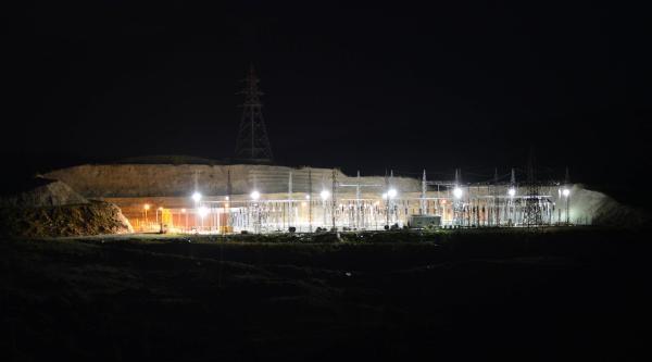 Çine Adnan Menderes Barajı'ndan Elektrik Üretimine Başlandı