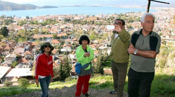 Çinli Sinemacılar Fethiye'de