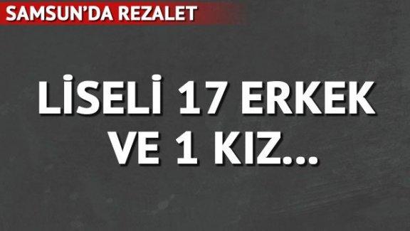 Cinsel taciz iddiasıyla 17 öğrenci gözaltında