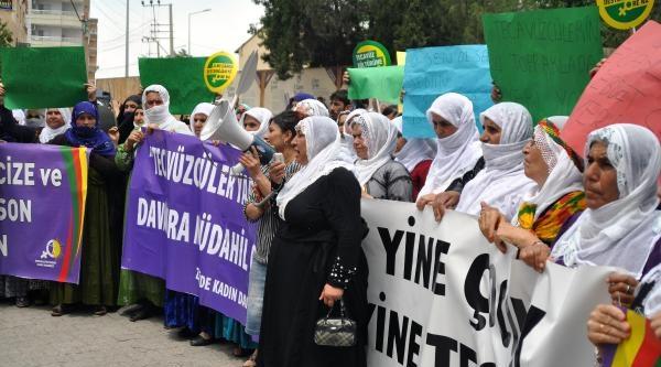 Cizre'de, Çocuk Tecavüzünü Protesto Yürüyüşü