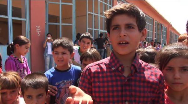 Cizre'de Ezidi Çocuklara Psikolojik Destek