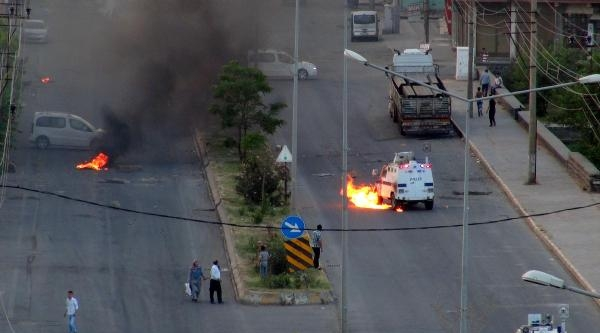 Cizre'de, Lice Protestosunda Olaylar Çikti