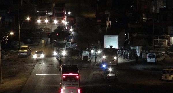 Cizre'de Olaylı Gece: 3 Polis Yaralandı (fotoğraflar)