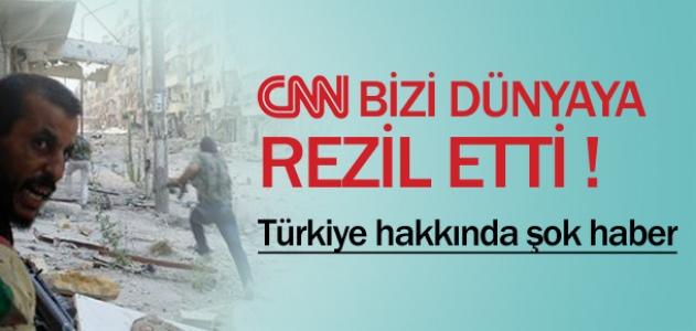 CNN'den Türkiye için şok haber !