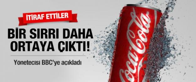 Coca Cola'nın bir sırrı daha çıktı!