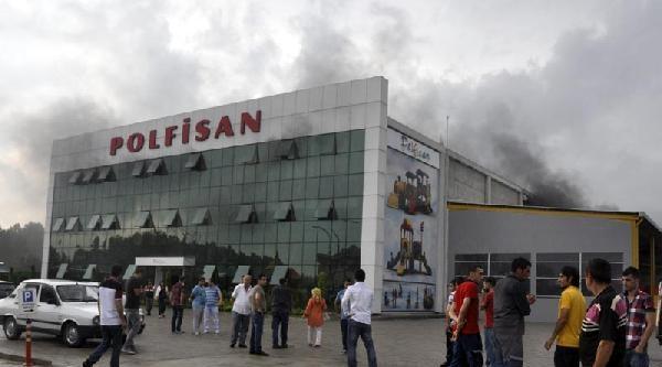 Çocuk Oyun Parkı Fabrikasında Yangın