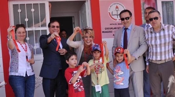 Çocuklar Gülsün Diye Derneği 22'nci Anaokulunu Manavgat'ta Açtı